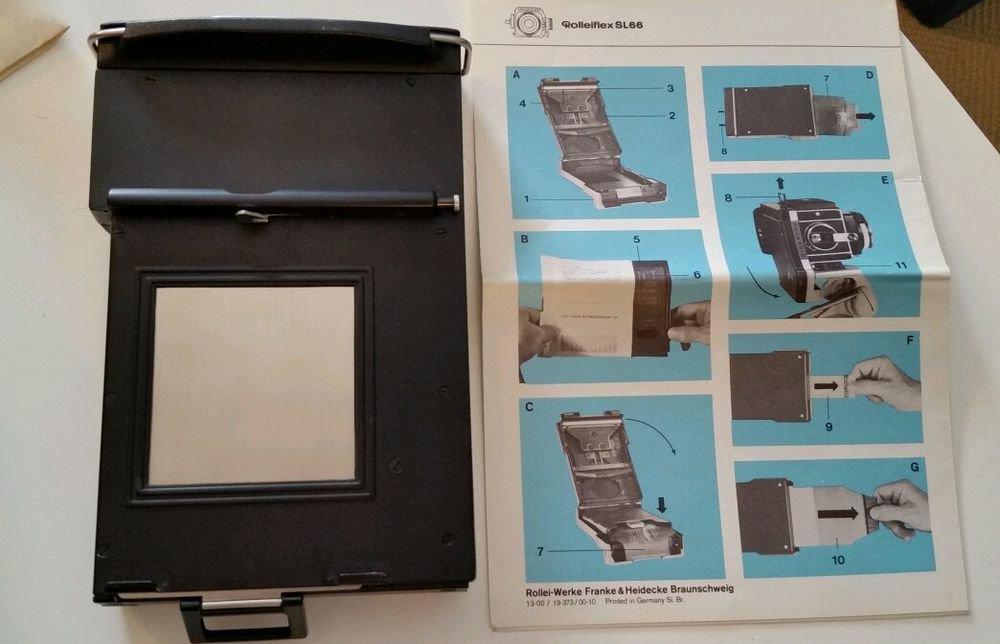 Polaroid Back for Rolleiflex SL-66 SN