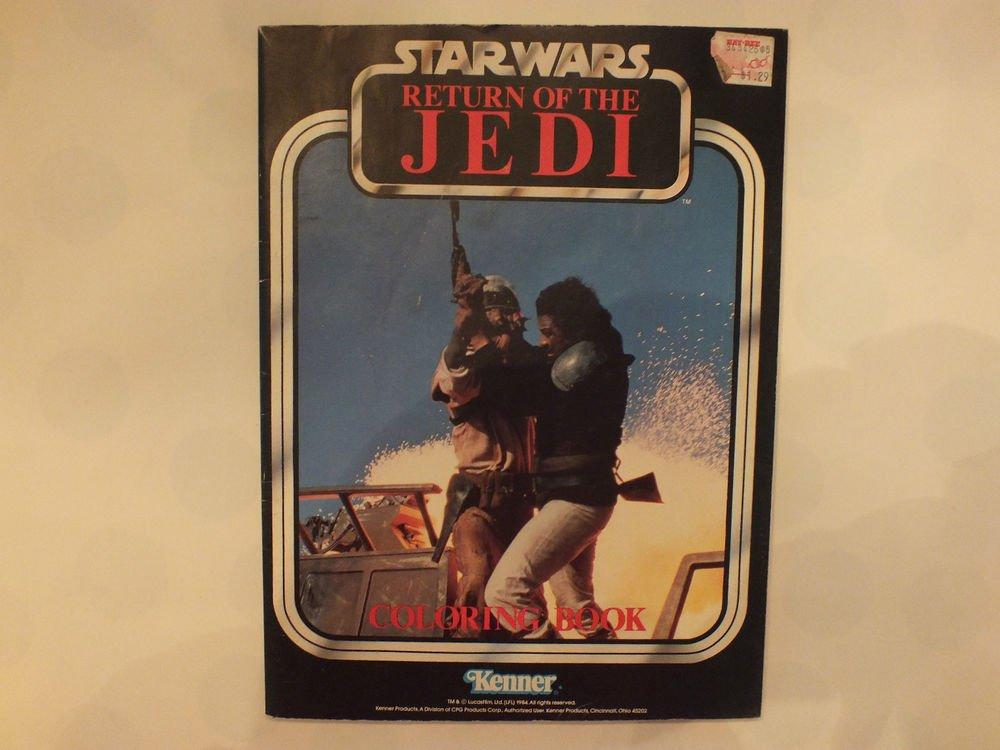 Unused Vintage Kenners Coloring Book Star Wars Return of the Jedi