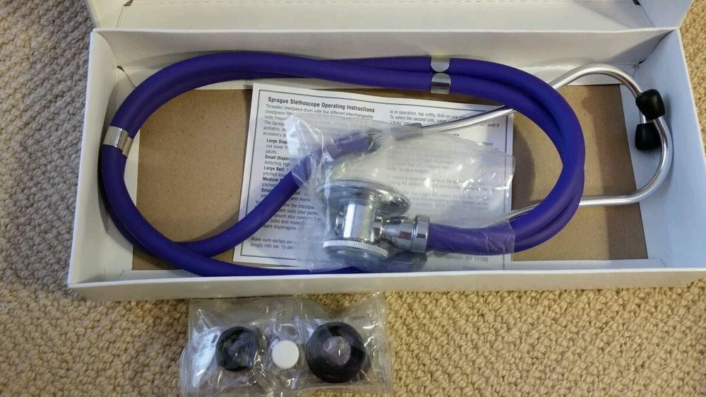 "Moore Medical Sprague rappaport Stethoscope PURPLE 22"""