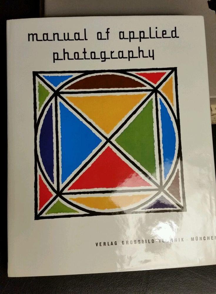 Manual of Applied Photography Joachim Giebelhausen, Germany 1961 DJ SLIPCASE