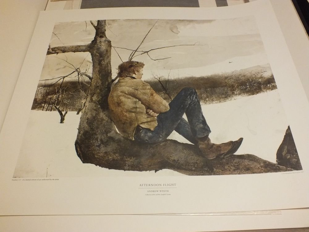 Andrew Wyeth Portfolio of 10 Collotypes Triton Press Only 300 were issued 1976