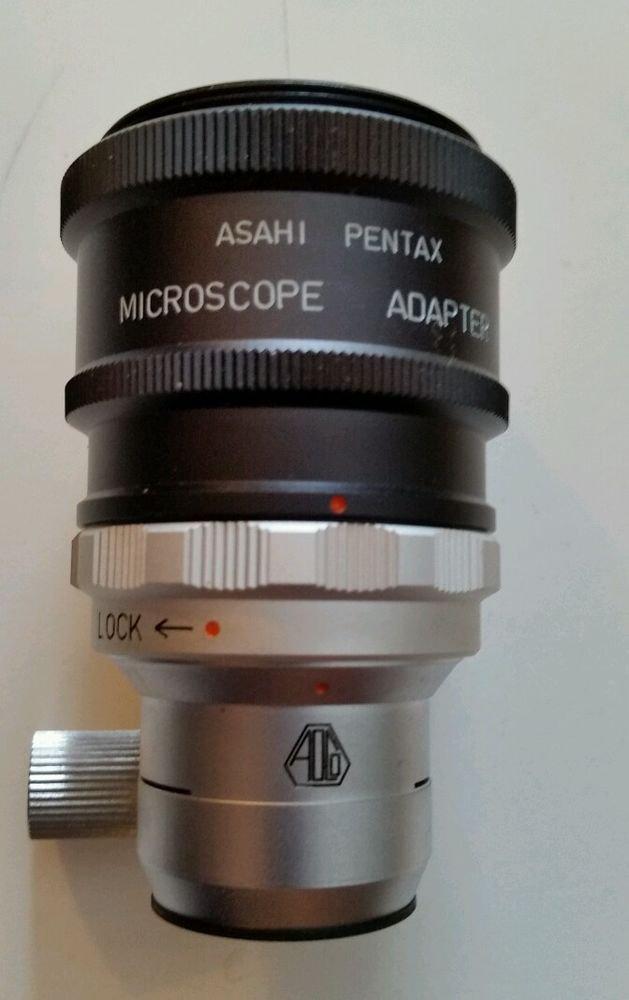 Asahi Optical Honeywell Pentax mount Microscope Adapter