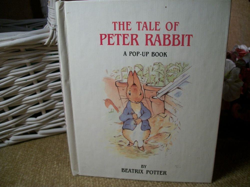 Beatrix Potter Book Classic Peter Rabbit VTG Children's Pop Up Story Keepsake