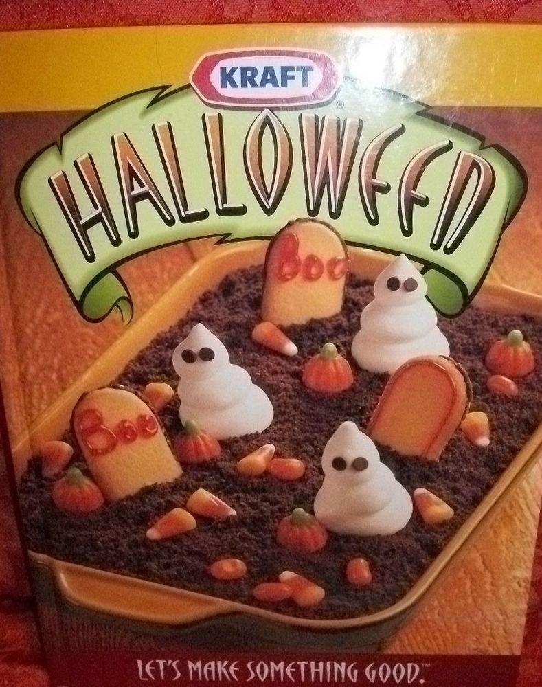 KRAFT Halloween Cookbook Kid's Party Food Fall  Entertaining Spooky Treats