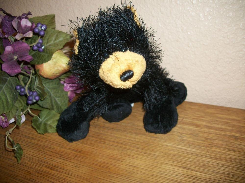 Ganz Webkinz Black Grizzly Bear Plush Stuffed Animal Collectible Toy no code