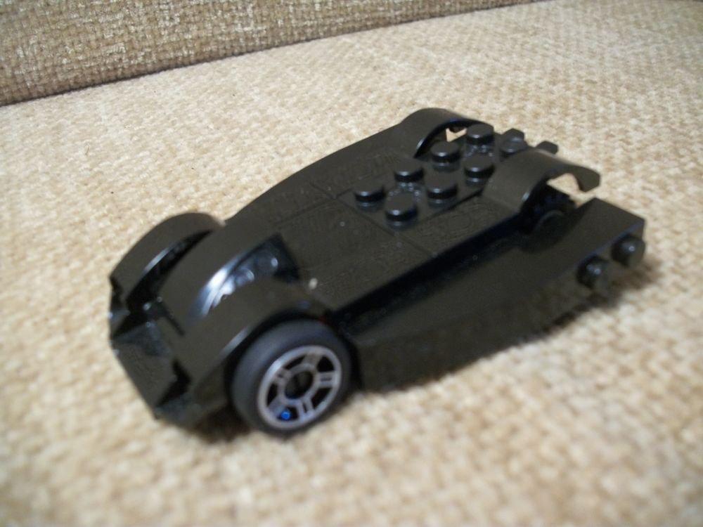 Real LEGO Bricks Black Car Mini Wheels Pod Custom Creation Over 20 Piece
