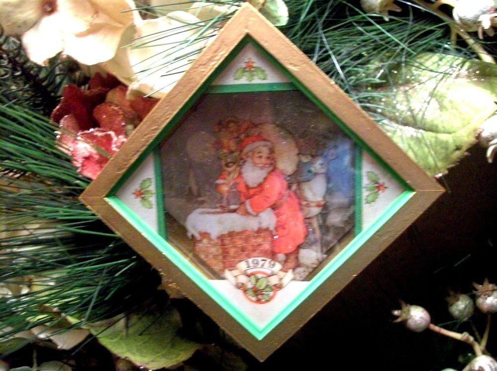 Hallmark Tree Trimmer Christmas Eve Surprise Santa Claus Ornament VTG 1979 w/Box