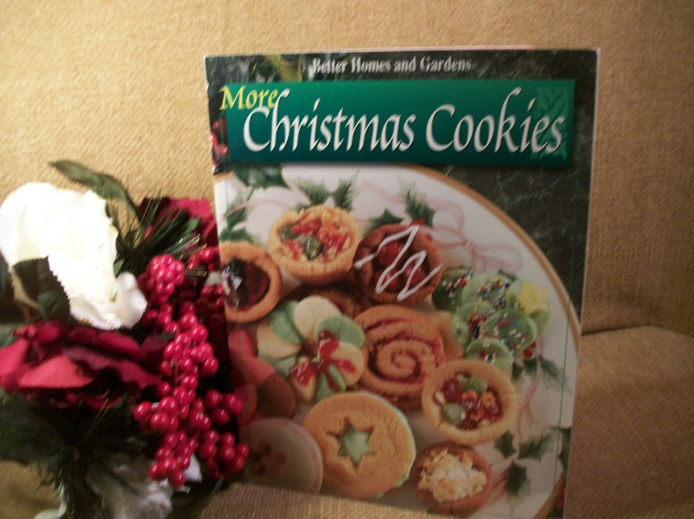 More Christmas Cookies Cookbook Holiday Baking Booklet 1998 Better Homes Gardens
