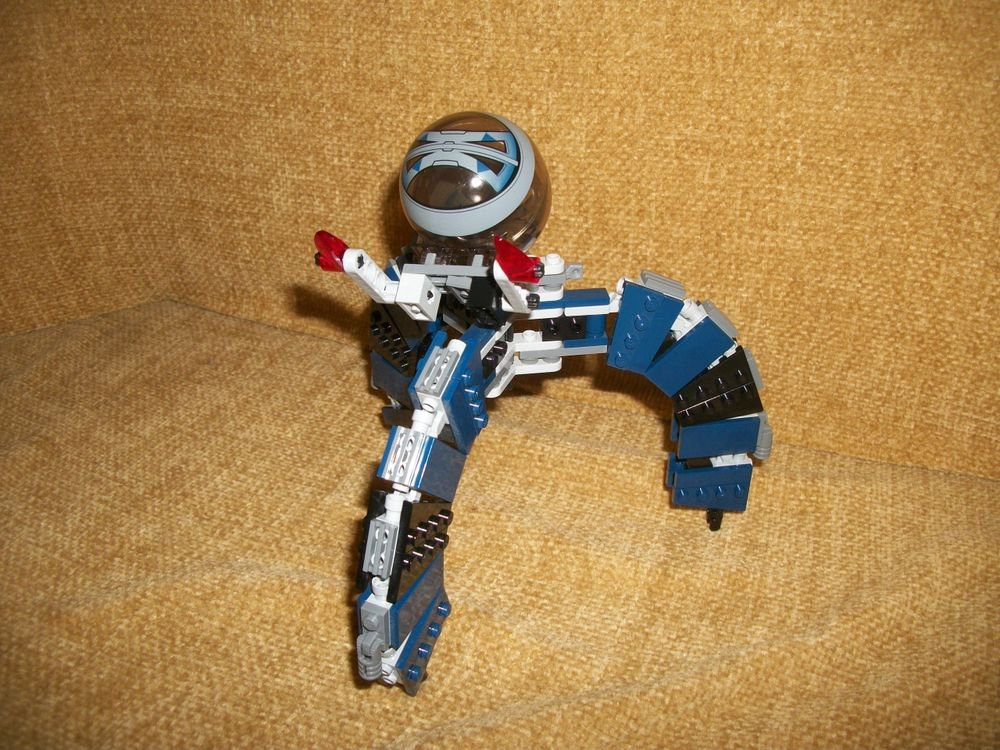 Real Lego Bricks Star Wars Sets Parts Custom Spider Transforming Creation 100+pc