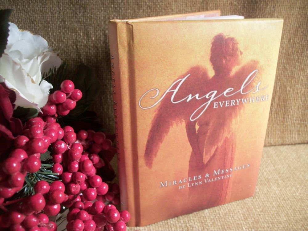 Angels Everywhere Hallmark Gift Book Miracles and Messages by Lynn Valentine