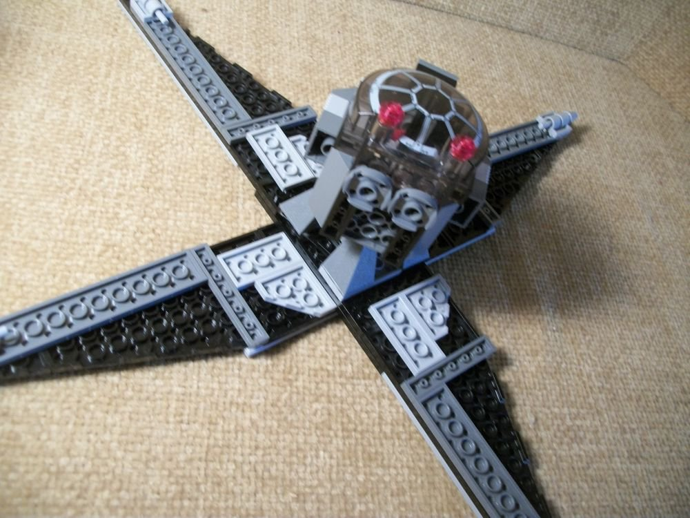 Real LEGO Bricks Star Wars Sets Parts Custom Wing Creation over 120 pieces