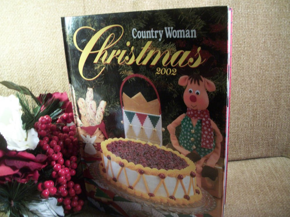 Country Woman Christmas 2002 Holiday Food Baking Crafts Decorating Entertaining