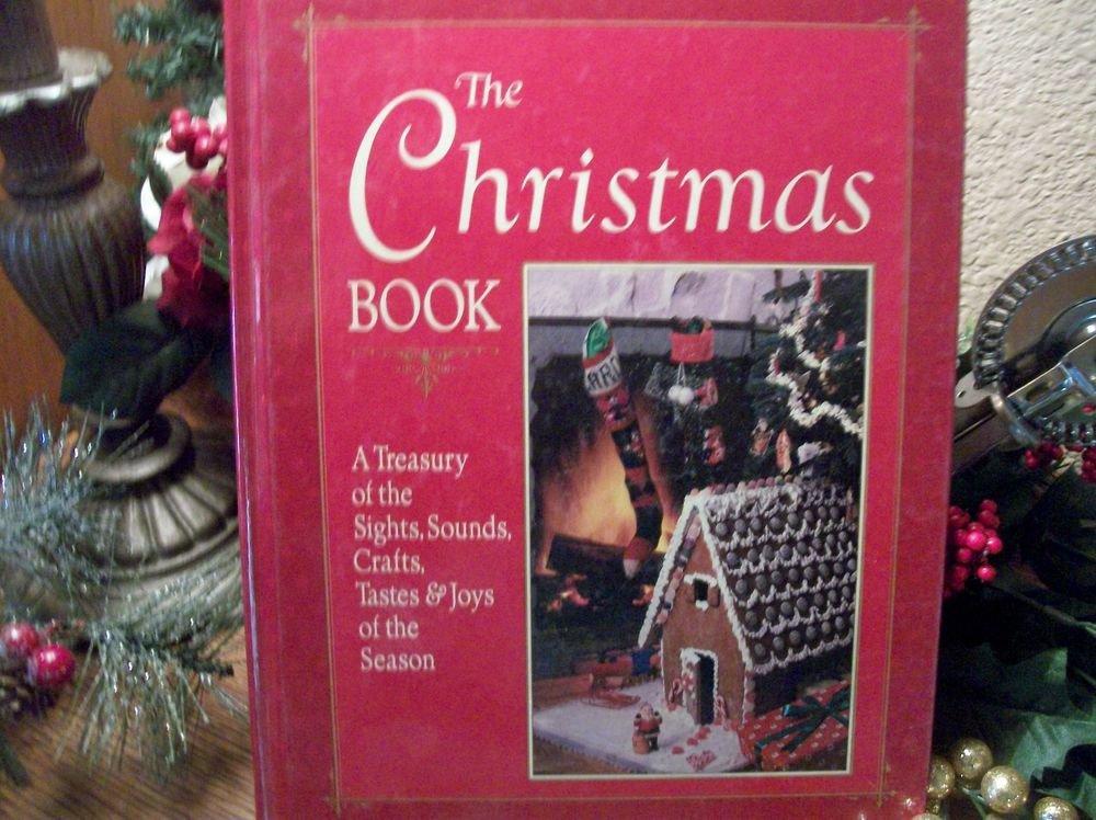 The Christmas Book Treasury of the Season Cookbook Decorating Crafts VTG 1987