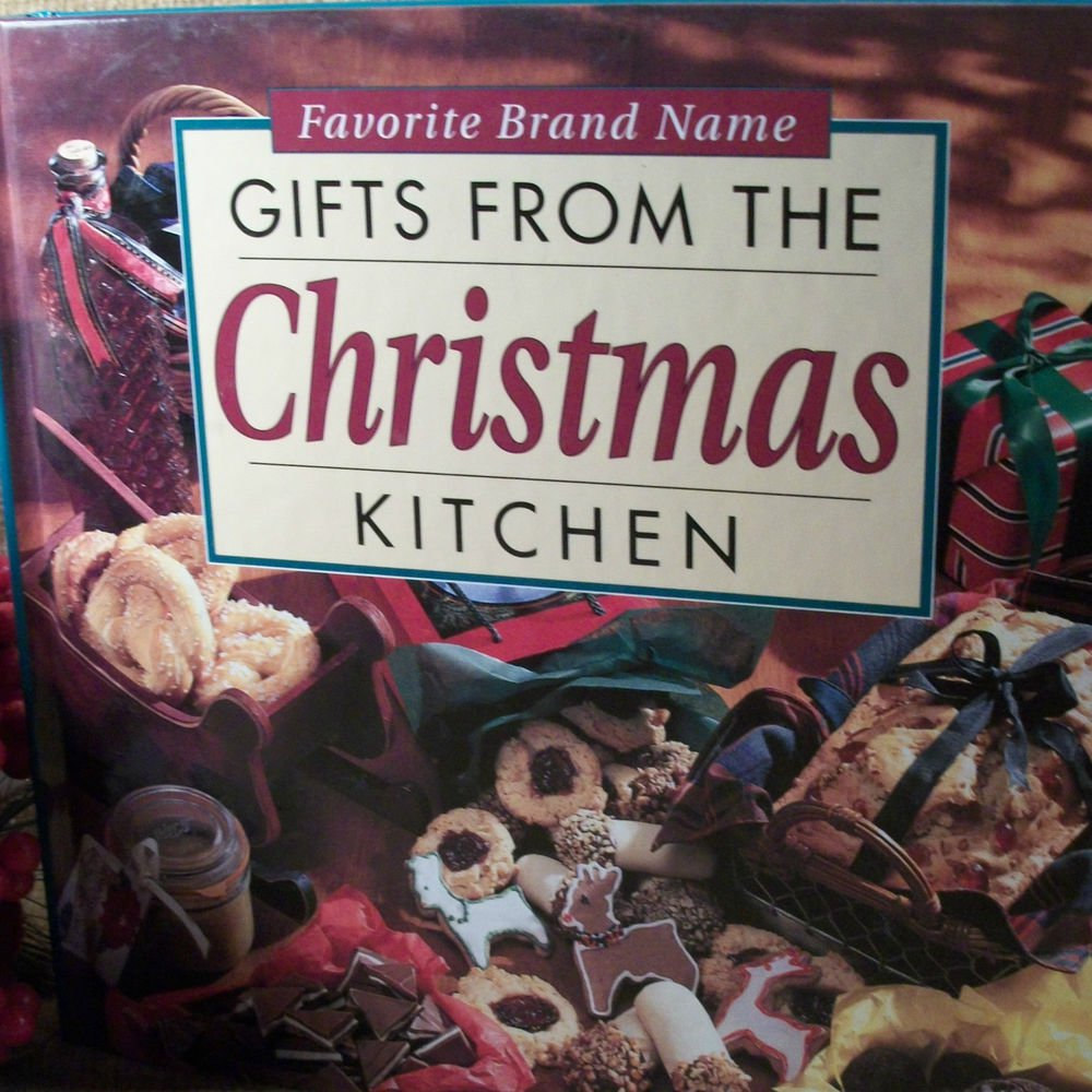 Favorite Brand Name Gifts from the Christmas Cookbook Kitchen Baking Holiday