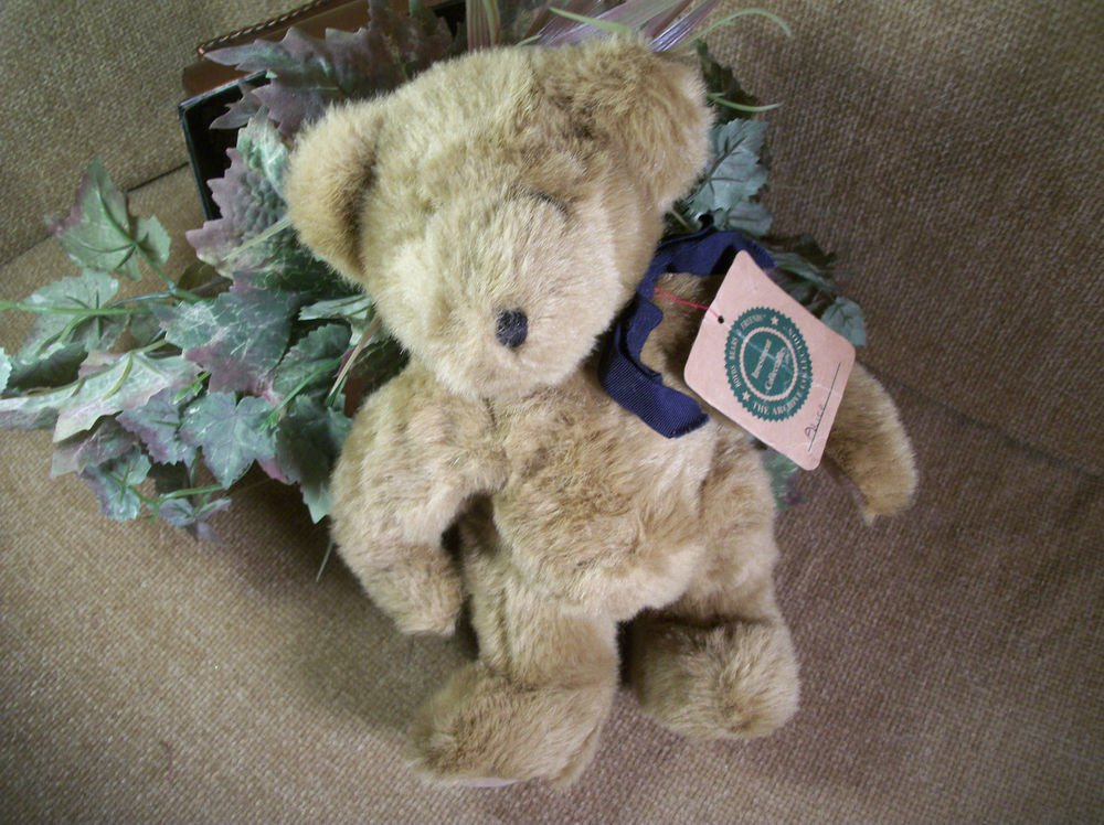 "BOYDS Bear 12"" Brown Plush Stuffed Animal RARE JB Bean Investment Collectible"