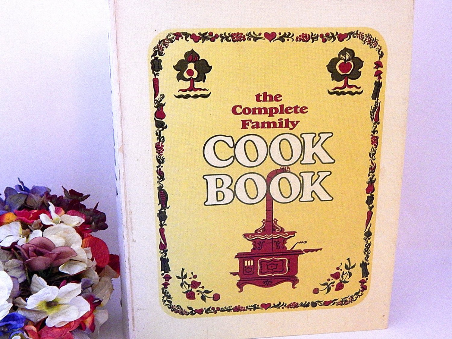 The Complete Family Cookbook 1969 3 Ring Recipe Book Mid-Century American Food Cooking Baking Guide