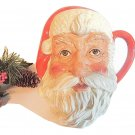 Santa Claus Mug Royal Doulton Figural Toby Jug Barware Vintage1983 Christmas Collectible D6704