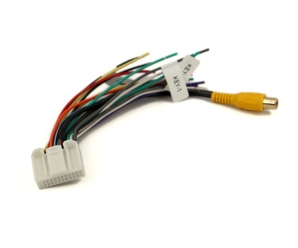 Xtenzi 24 Pin Radio Wire Harness for Pyle  PLDNV77U, PLDN695 & More