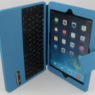 myBitti Ultra Thin bluetooth ABC keyboard smart Case  for ipad AIR-Sky blue