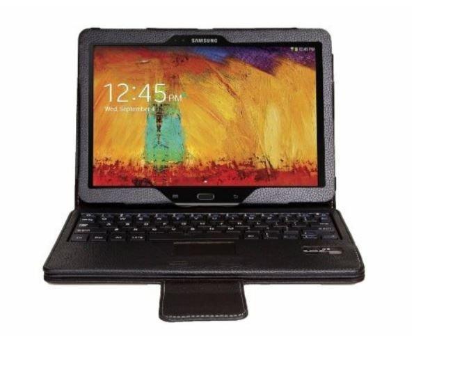 myBitti  Samsung Galaxy note 10.1 Portfolio Case Bluetooth Keyboard stylus pen