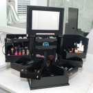 Decorebay Classic Handmade two door jewelry box /Makeup / Cosmetics Organizer