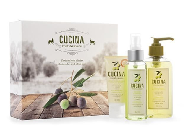 Fruits & Passion Cucina Discovery Gift Set Coriander and Olive Tree