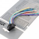 Xtenzi Radio Speaker Wire Harness for Pioneer CDE6468, CDP3003, CDE7060, CDP1017