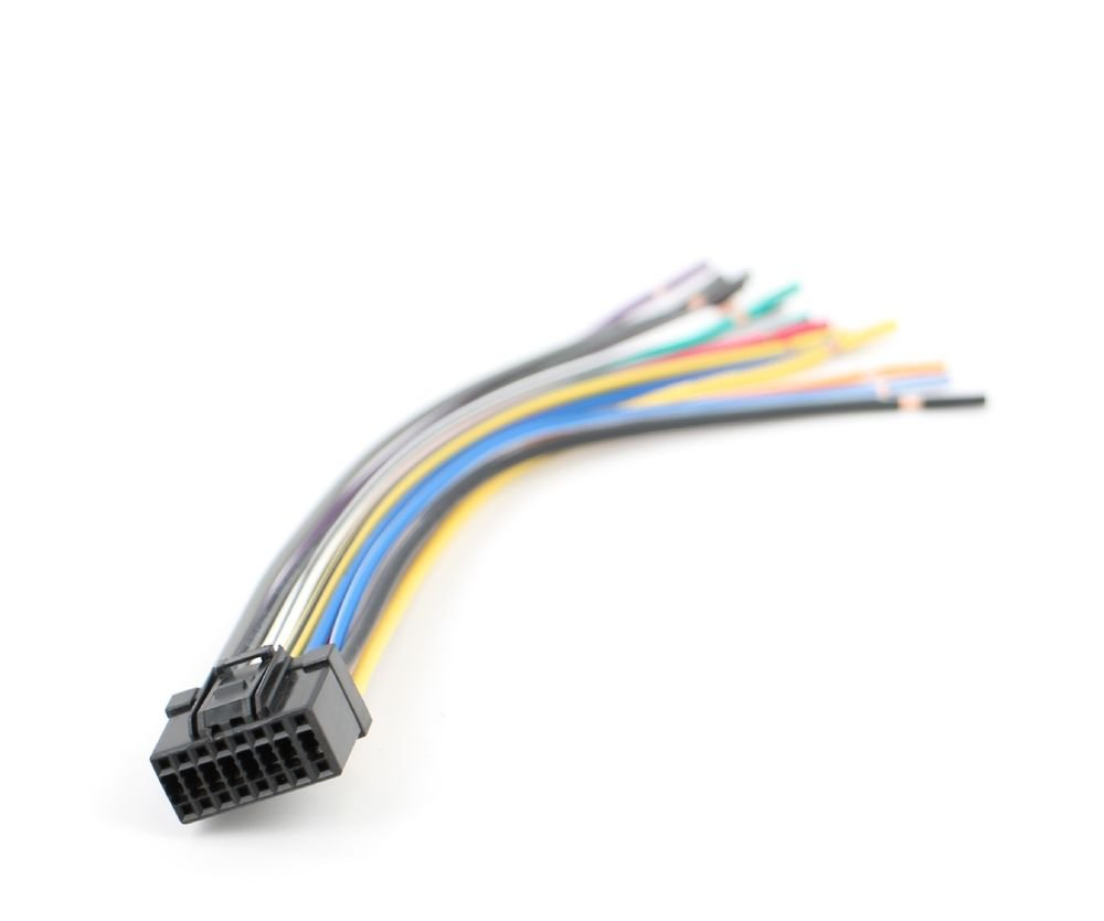 Xtenzi Speaker Wire Harness for Pioneer InDash Radio DEH (CDE6563)