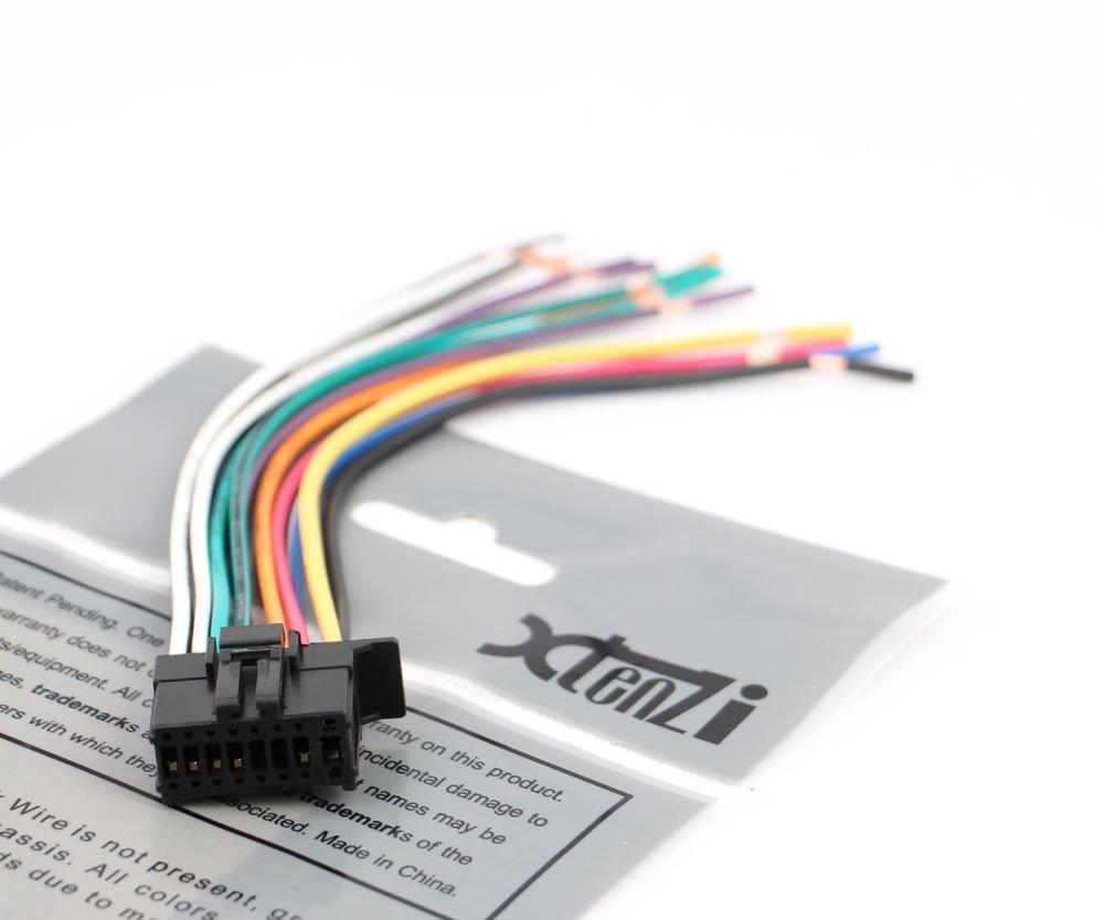Xtenzi Wire Harness Radio for Pioneer CDP1269, YDP5039, QDP3013