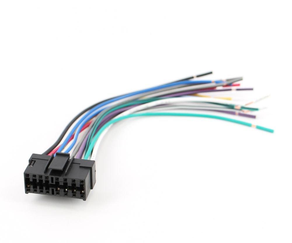 Xtenzi Radio Wire Harness For Sony Car Sterio Power Plug 16 Pin Cdx Wiring Mdx Mex Xr