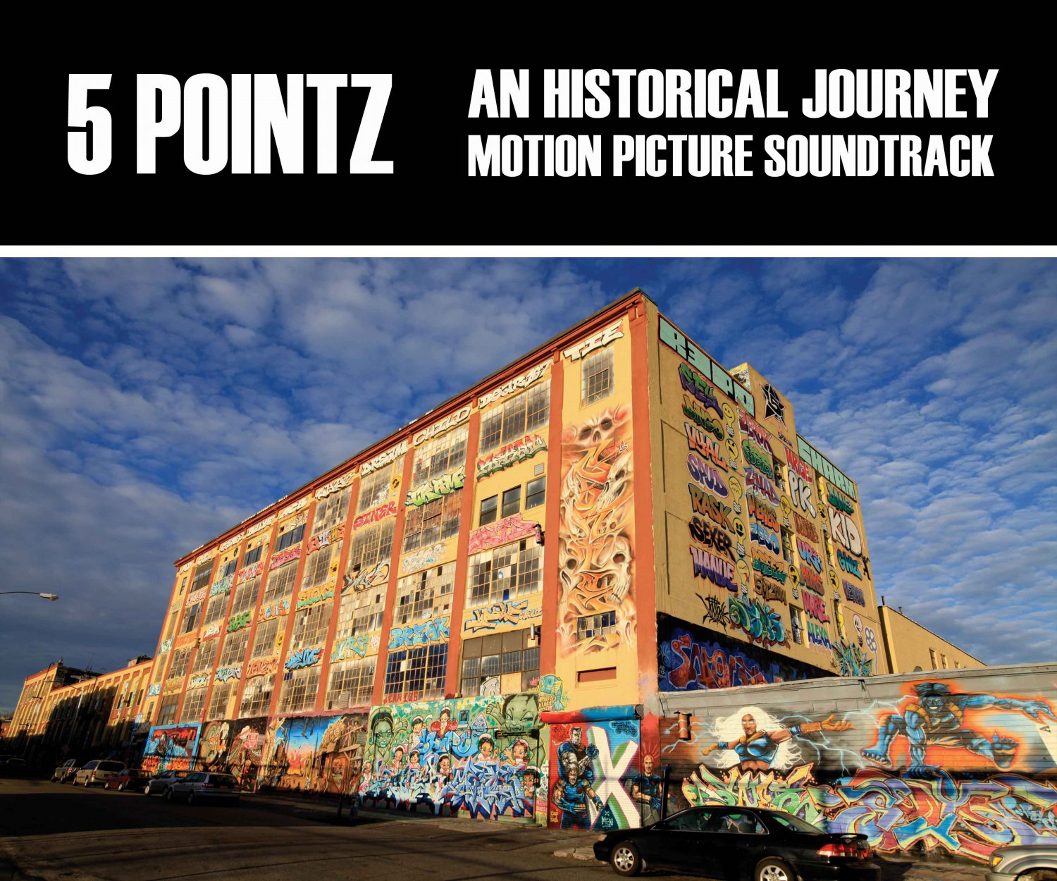 5 Pointz: An Historical Journey Soundtrack (CD, 2014) 360 Sound and Vision