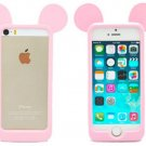 Case Frame Ears Mouse model Silicon material iPhone 5 5s 5g