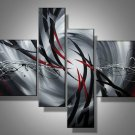 Mystic -Abstract-handmade painting-set of 4pcs