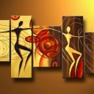 Inglewood -People-handmade painting-set of 5pcs