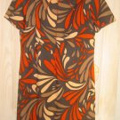PLUS SIZE Psychedelic Dress New with Tag NWT Vintage 60s Pop Art Jerrie Lurie 18