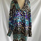 Missoni Dress New Old Stock With Tags Silk Print Cowl Neck Flowy Dotted  6