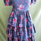 Laura Ashley Mother & Child Ruffle Tier Dress NOS Vintage Prarie 10