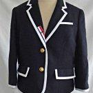 Thom Brown for Neiman Marcus Blazer Trophy Preppy Jacket NOS Deadstock Women L