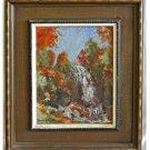 Vintage Impressionist Landscape Painting Western New England J Higgins Plein Air