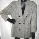Vintage 70s Oversize Bergdorf Goodman Boyfriend Jacket Blazer Trophy 4 XZEK/XZK
