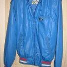 Bomber Biker Baseball Jacket Members Only NOS Vintage 70s Red White Blue Moto