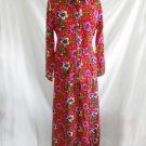 Vintage 70s Couture Potpourri Saks Fifth Ave Maxi Full Skirt Blouse Angora 12