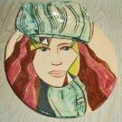 Vintage 70s Modernist Pottery Ceramic Head Face Beautiful Female Bowl Dora Fiser