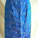 Gunne Sax Dress NOS 9 Vintage Gown Strapless Bustier Embroidered Corset Empire