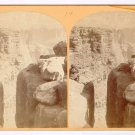 Stereoview Wheeler Expedition 1872 14 Wm Bell Photo North Wall Grand Canon X 3D