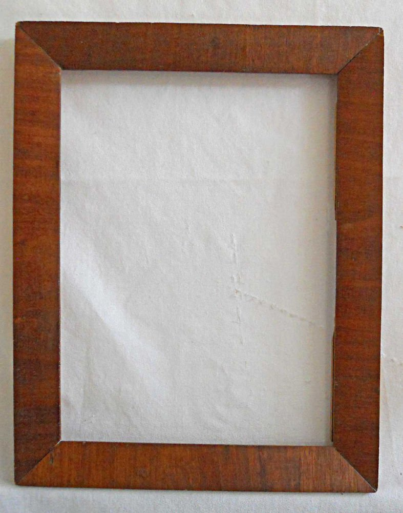 """Antique Victorian Picture Frame Rosewood Veneer 11.5""""x14.5"""" Old Patina Luxurious"""