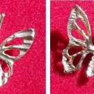 Large14K Gold Butterfly Detailed Insect Charm Pendant Moth Bug