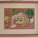Jamaica Vintage Painting Jamaican House Kathy Hardie Tropical 74 Architecture
