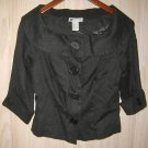 Jacket Trophy Carole Little Baby Doll Swing NOS with Tag Portrait Collar Crop 4