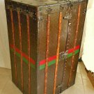 Louis Vuitton Wardrobe Trunk Antique Steamer Hanging Art Deco Original Monogram